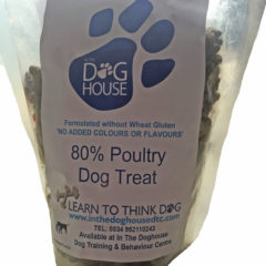 Doghouse Poultry Treats 500g