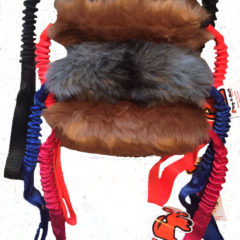 Double Handled Bungee Tug Faux Fur